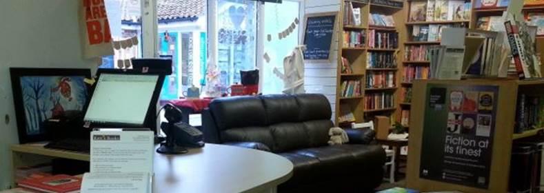 Kett's Books desk