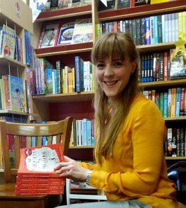 Emma Healey visits Kett's Books